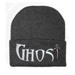 charcoal beanie GHOST